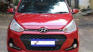 Used Hyundai Grand i10 2018 AT for sale in Chennai
