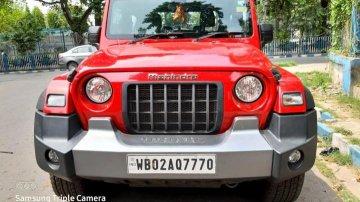 Used 2020 Thar LX 4-Str Convert Top Diesel  for sale in Kolkata
