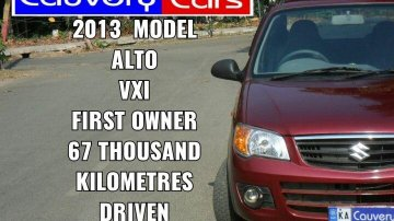 Used 2013 Alto K10 LXI  for sale in Bangalore