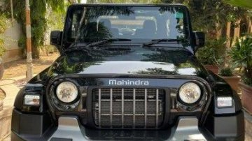 Used 2021 Thar LX 4-Str Convert Top AT  for sale in Ahmedabad