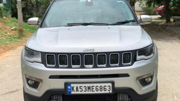 Used 2017 Compass 1.4 Limited Option  for sale in Bangalore