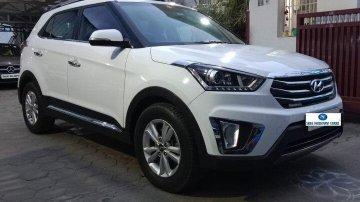 Used 2015 Creta 1.6 CRDi AT SX Plus  for sale in Coimbatore