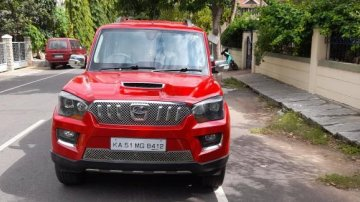 Used 2015 Scorpio S10 8 Seater  for sale in Bangalore