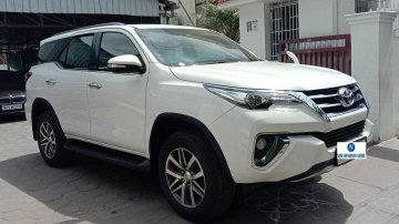 Used 2018 Fortuner 2.8 4WD AT  for sale in Coimbatore