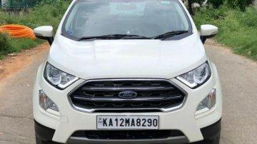 Used 2020 EcoSport 1.5 Diesel Titanium  for sale in Bangalore