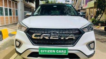 Used 2020 Creta 1.6 SX Automatic  for sale in Bangalore