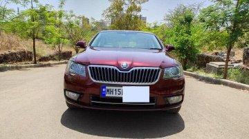 Used 2014 Superb Elegance 2.0 TDI CR AT  for sale in Nashik